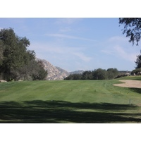The sharp, dogleg sixth at San Vicente Resort in Ramona, Calif., is short, but it isn't easy.