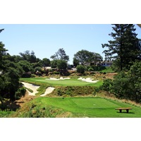 Pasatiempo Golf Club culminates with a par 3.