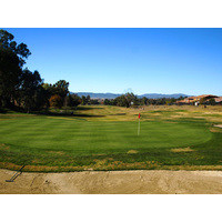 The fourth at The Golf Club at Rancho California is a good, solid par-5 hole with a slightly uphill fairway.
