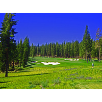 "The fifth is Martis Camp's no. 1 handicap hole, a 520-yard par 4 from the ""Medal"" tee."