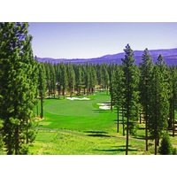 "The highest tee at Martis Camp G.C. is the ""Medal"" tee on the 642-yard par-5 10th, where the fairway is a couple of hundred feet below."