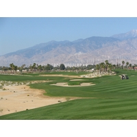 A view of Escena Golf Club in Palm Springs, California, which was designed by Jack Nicklaus.