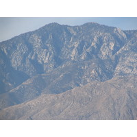 Mountains loom large over Cimarron in the Palm Springs valley.