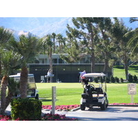 Desert Princess Country Club has the tennis court and the fleet of carts.