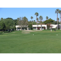 Once you get on the green, you can relax a little at Desert Princess.