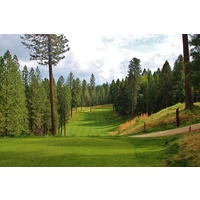 The scenery and solitude of Apple Mountain Golf Resort -- check out the eighth hole -- can be spectacular.