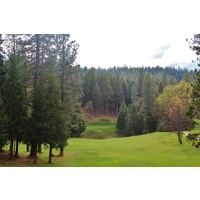 The 378-yard 11th hole is one of the toughest par 4s at Apple Mountain Golf Resort east of Sacramento.