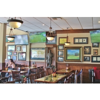 MacKenzie's Sports Bar & Grille is filled with historic photos, articles and even original drawings by Dr. Alister MacKenzie of the course.