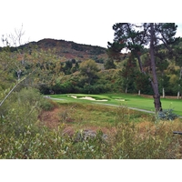 The 11th hole at Quail Lodge & Golf Club sits in a secluded spot away from the neighborhood and the resort.