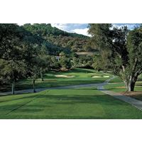 Pala Mesa Resort features many tight, tree-lined fairways that demand accuracy.