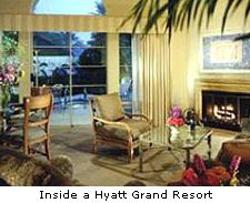 Inside a Hyatt Grand Resort