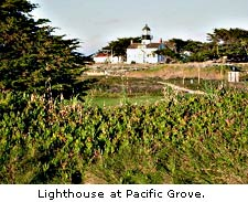 Lighthouse at Pacific Grove