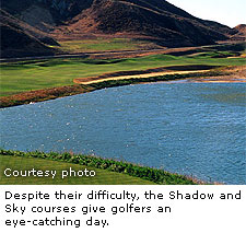 The Lost Canyons Golf Club