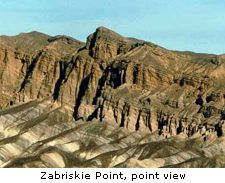 Zabriskie Point, point view