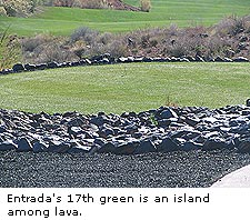 Entrada's 17th Green