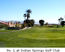 No. 1 at Indian Springs Golf Club