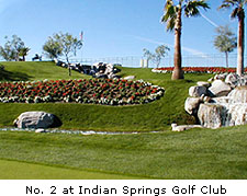 No. 2 at Indian Springs Golf Club