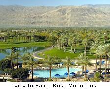 View to Santa Rosa Mountains